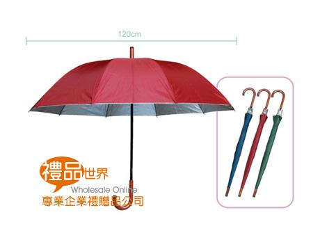 10片傘面銀膠傘