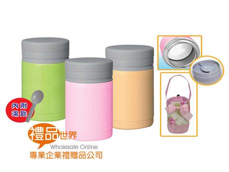 時尚馬卡龍食物瓶550ml(附匙)