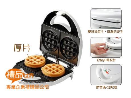 圓型厚片鬆餅機