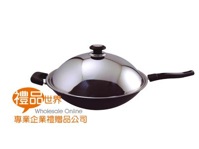 西華超硬陽極37㎝單把炒鍋