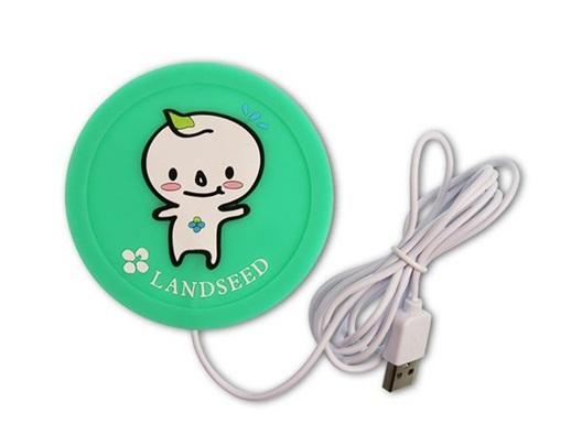 客製化USB保溫杯墊